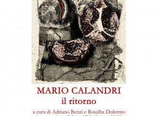 MOSTRA DI MARIO CALANDRI
