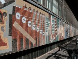 Palazzo delle Poste e Telegrafi e mosaici di Severini